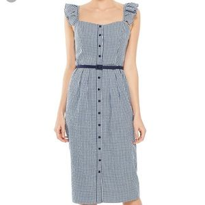 NWT Gal Meets Glam gingham Carly dress